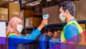 warehouse workers during the pandemic