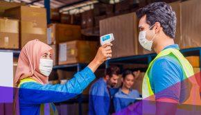 La main-d'œuvre industrielle pendant la pandémie